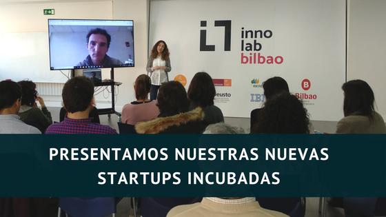 Nuevas startups incubadas en INNOLAB Bilbao