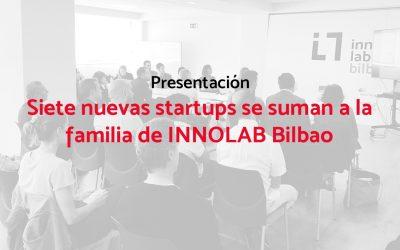 Siete nuevas startups se suman a la familia de INNOLAB Bilbao